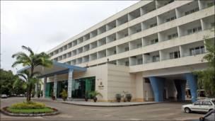 Inya Lake Hotel in Rangoon