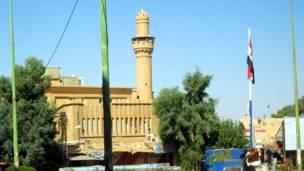 ساحة الحرية في وسط دير الزور