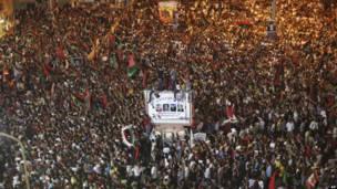 مخالفان قذافی