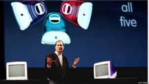 Chiếc máy tính iMac được tung ra thị trường vào năm 1998