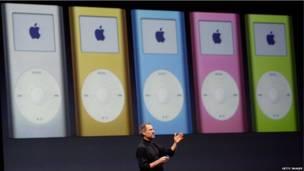 Loạt sản phẩm Ipod sang phiên bản Nano và video