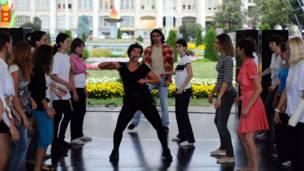 Танцы в Лужниках