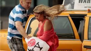 Taxi en aeropuerto Nueva York