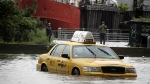 Taxi en Manhattan