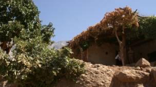 روستایی در کوهستان قندیل