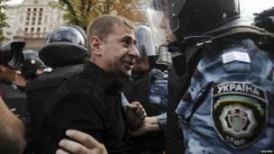 أحد أنصار تيموشينكو