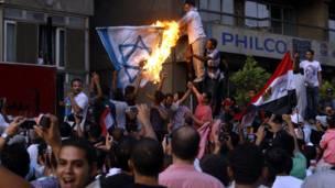 مصري لاریون کوونکي اسراییلي جنډه سېځي.
