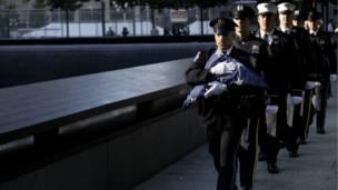 وحدات من رجال شرطة وإطفاء نيويورك