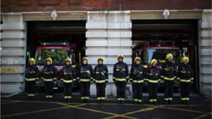 رجال إطفاء في نيويورك