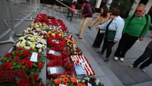 تأبين ضحايا الهجمات في لندن