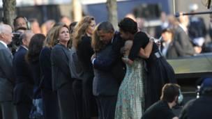 أوباما وقرينته