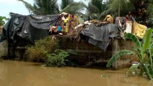 उड़ीसा में बाढ़