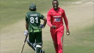 پاکستان، زمبابوے میچ تصاویر