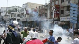اشتباكات صنعاء