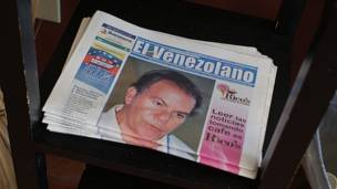 """Periódico """"El Venezolano"""""""