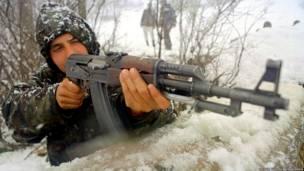 الكلاشينكوف في الحرب بإقليم كوسوفو