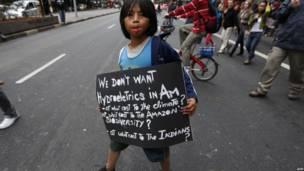 Unjuk rasa menentang Belo Monte