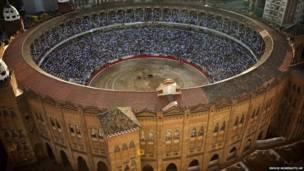حلبة مصارعة في برشلونة