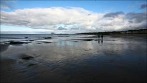 North Berwick海边