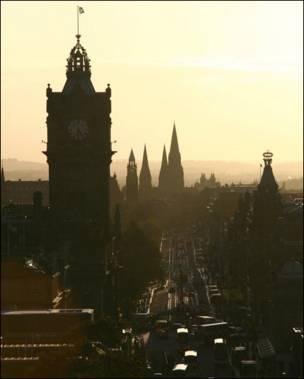 爱丁堡市中心