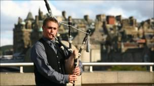 苏格兰风笛手