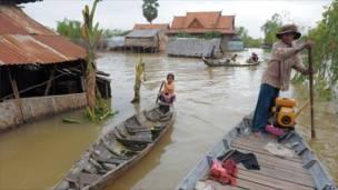 Lũ lụt ở Campuchia