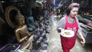 Lụt ở Bangkok, Thailand