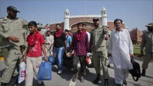 پاکستانی قیدیوں کی رہائی