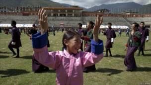 Trẻ em tập múa