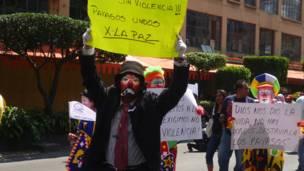 Payasos contra la violencia