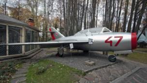 Самолет, музей техники