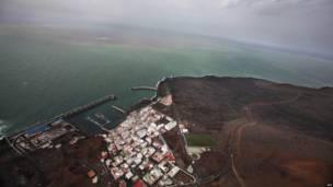 Erupción en la isla de El Hierro
