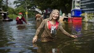 Жительница пригорода Бангкока