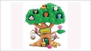 小莫希怪物的树屋
