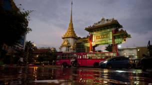 На улице Бангкока