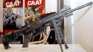 Усовершенствованные в Израиле модели винтовок М-16