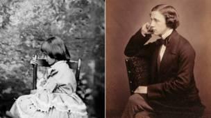爱丽丝真人照片和卡洛尔本人照片