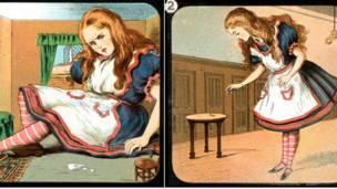《爱丽丝镜中奇遇》灯影图像