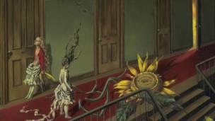 坦宁的油画