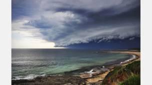 عکس از اداره هواشناسی استرالیا