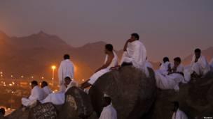 Prosesi Haji di Mekkah