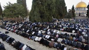 Idul Adha warga Palestina