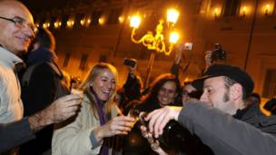 Renuncia de Berlusconi