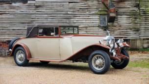 Rolls-Royce Phantom II de 1933