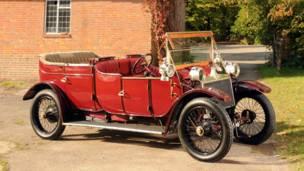 Limusine Lanchester de 1912