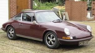 Porsche 911E de 1970