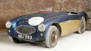 Carro especial de testes Austin-Healey '100' de 1953