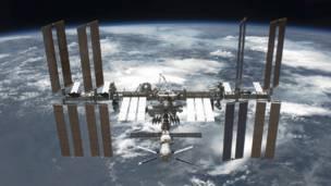 (Foto: Estação Espacial Internacional/ Divulgação)