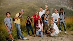 Integrantes do Foto-Clube do Alemão (Dhani Borges)