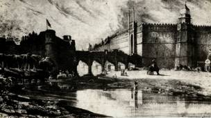 दिल्ली के पुराने चित्र
